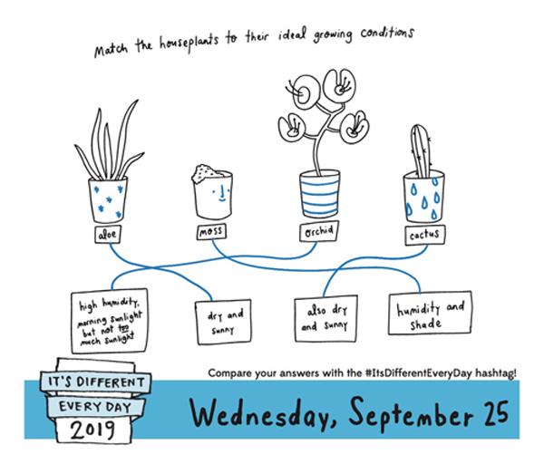 Wednesday, September 25, 2019 graphic