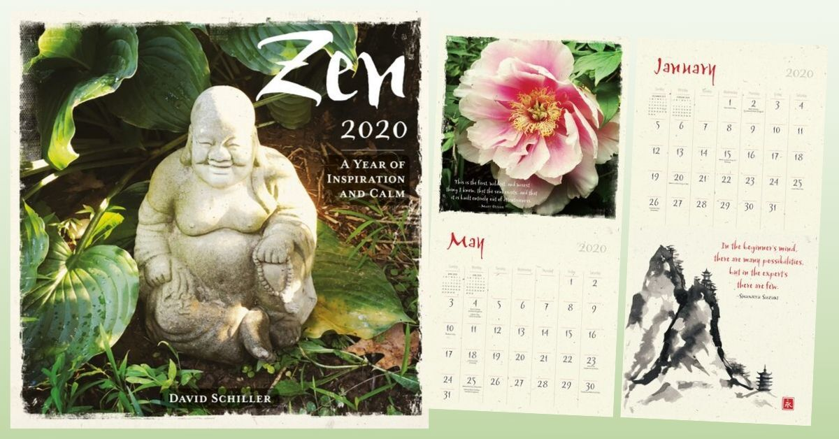 Zen 2020 Wall Calendar