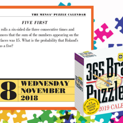Can You Solve Today's Brain Puzzlers? November 28, 2018 Page