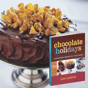 Chocolate Sour Cream Layer Cake Recipe from Chocolate Holidays