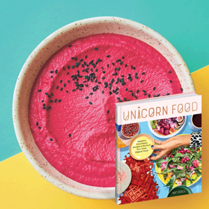 Holiday Recipes - Beet Hummus - Unicorn Food