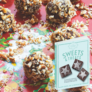 Bittersweet Pecan Truffles from Sweets and Treats