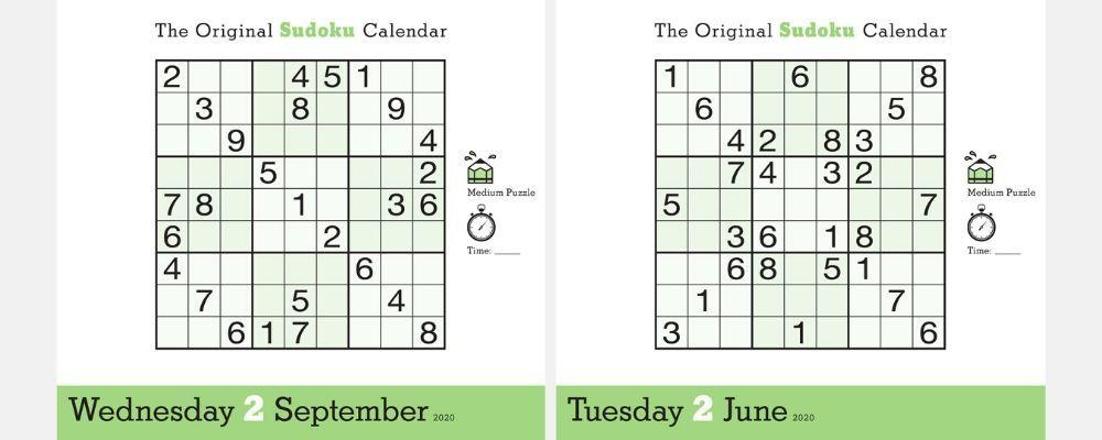 2020 Sudoku Puzzles